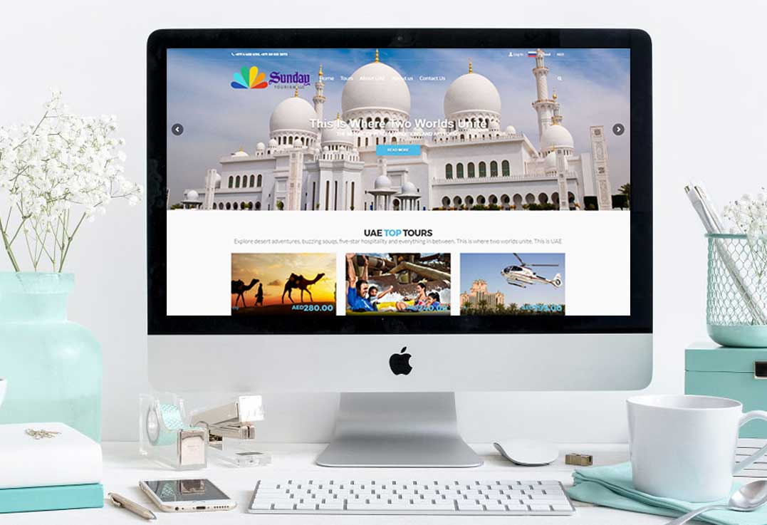 First-Tours_Website-Development-with-Online-Booking