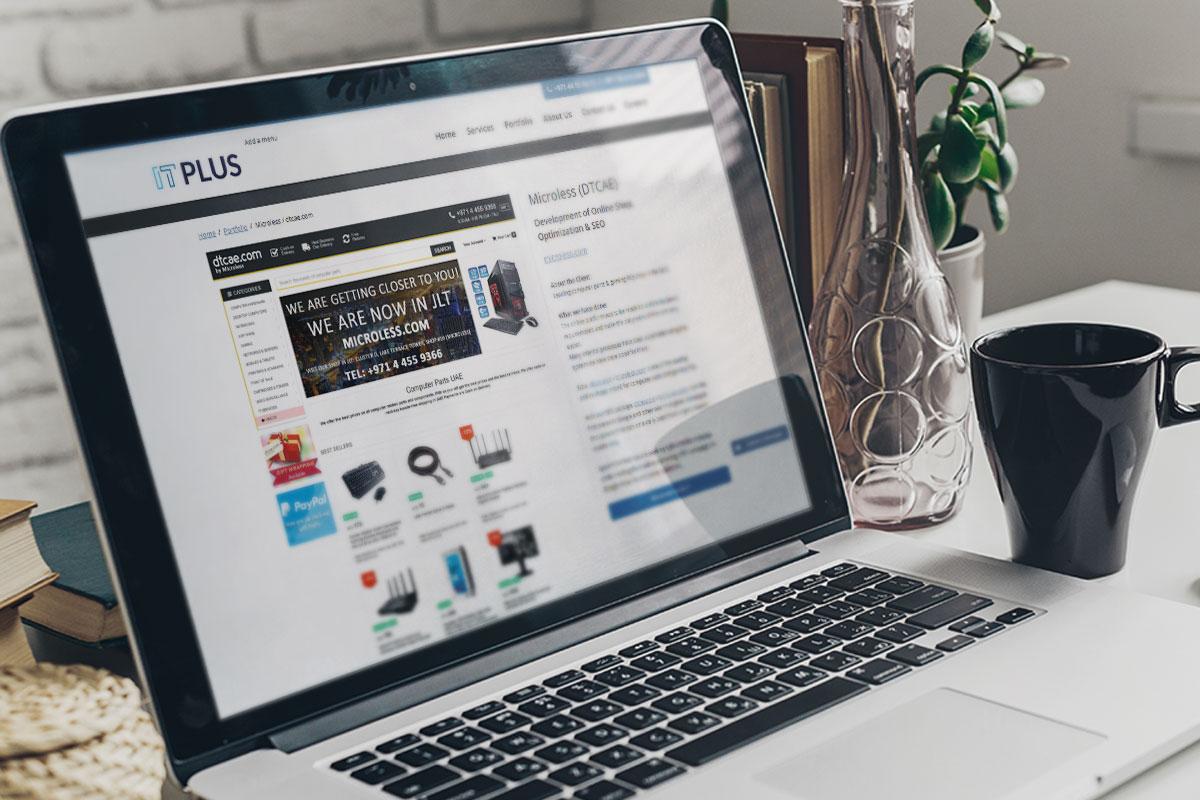 MicrolessDTCAE_Development-of-Online-Shop-Optimization-SEO