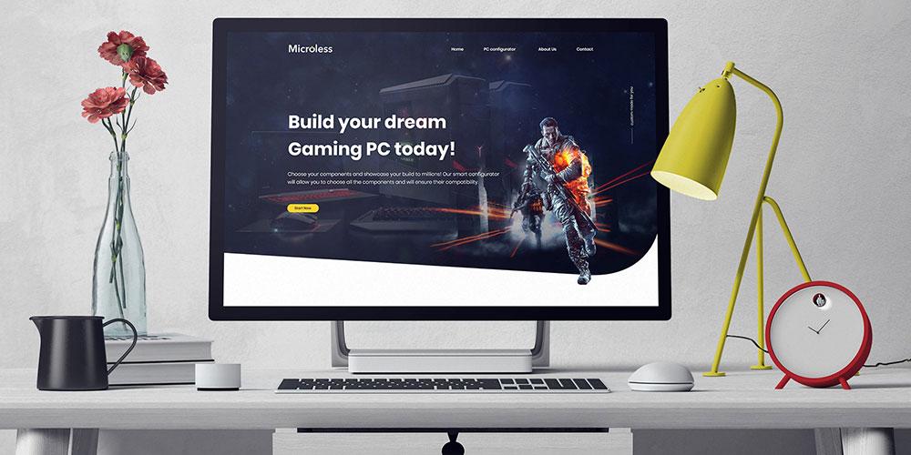website beautiful design